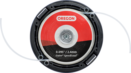 TESTINA GATOR SPEED LOAD OREGON PICCOLA 24-225