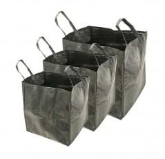 Set di 3 sacchi multifunzione capacità 70, 100 e 170 L