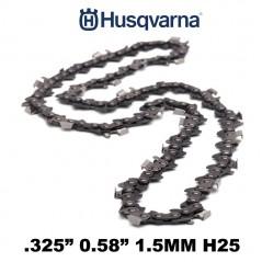 "CATENA MOTOSEGA HUSQVARNA 72 MAGLIE H25 (21BP) 325"" 1.5MM 501840472"