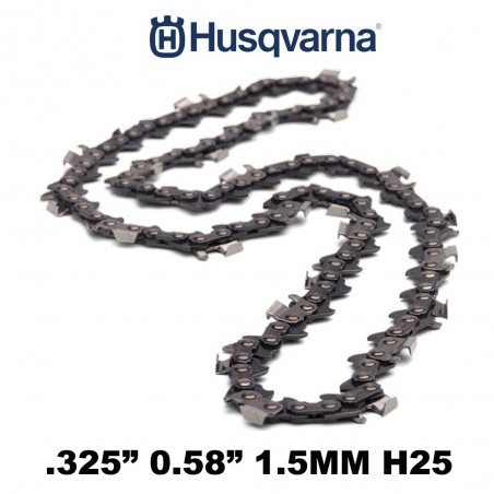 "CATENA HUSQVARNA 72 MAGLIE H25 (21BP) 325"" 1.5MM 501840472"