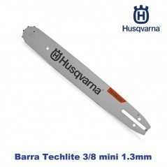 BARRA Techlite MOTOSEGA HUSQVARNA 35cm 1,3MM 3/8 MINI 52 MAGLIE