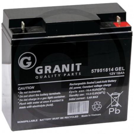 Batteria 12V 18Ah al Gel 1117-2013-01