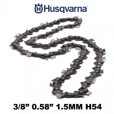 CATENA MOTOSEGA HUSQVARNA 84 MAGLIE H54 73DP 3/8 1.5MM - 544078884 - DENTE MEZZO TONDO