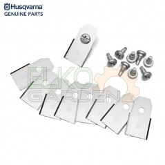 KIT LAME ROBOT HUSQVARNA AUTOMOWER LONG LIFE 0,6MM DA 9PZ 577864603 EX 577864602