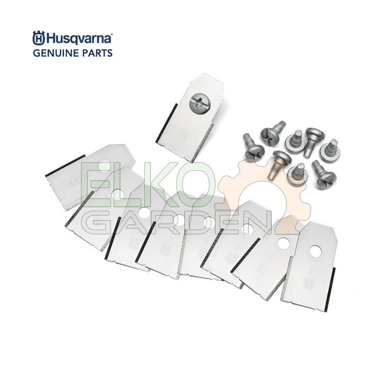 KIT LAME HUSQVARNA AUTOMOWER LONG LIFE 0,6MM DA 9PZ 577864603 EX 577864602