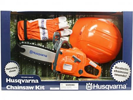 Motosega giocattolo con kit sicurezza