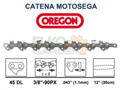 CATENA MOTOSEGA OREGON 45 MAGLIE PASSO 3/8 LP 1.1 MM - 90PX-045E