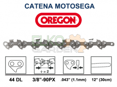 CATENA MOTOSEGA OREGON 44 MAGLIE PASSO 3/8'' LP - 1,1 mm 90PX044E