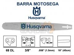 BARRA MOTOSEGA HUSQVARNA RNS 45CM 3/8 1,5 68E 501956968