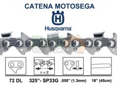 CATENA HUSQVARNA X-CUT SP33G 72 MAGLIE 45Cm 325 1.3MM 581643172