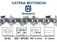 CATENA HUSQVARNA X-CUT SP33G 64 MAGLIE 38cm 325'' 1.3MM 581643164