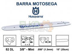 BARRA HUSQVARNA 3/8 MINI 35cm 1.3mm 52E 501959252