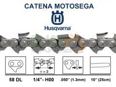 CATENA HUSQVARNA 58 MAGLIE H00 1/4 1.3MM (25AP) - 501844058