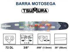 BARRA TSUMURA LIGHT 3/8 50CM 72E 1.5MM ATTACCO GRANDE