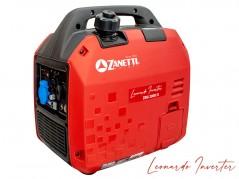 GENERATORE DI CORRENTE INVERTER ZANETTI LEONARDO ZBG 2000 iE 1.8 kW - AVVIAMENTO ELETTRICO