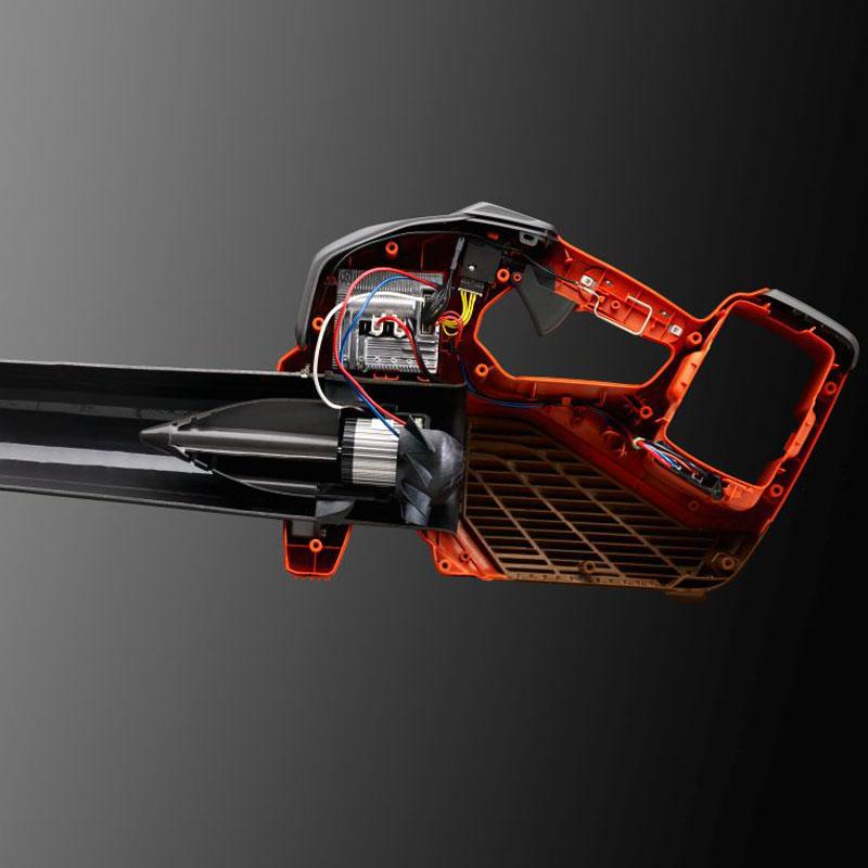 436LiB/536LiB - Avanzato design del motore ventola