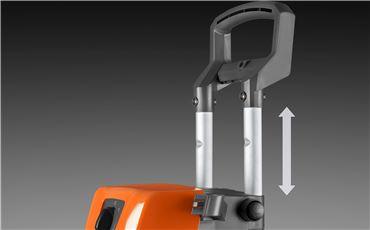 Aluminum telescopic handle