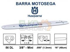 BARRA MOTOSEGA HUSQVARNA 3/8 MINI 40 cm 1.3mm 56 MAGLIE 501959256
